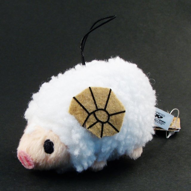 Monster Hunter Mini Plush Doll: Pugee (Sheep)