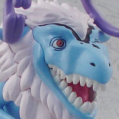 One Piece Strong World Vol. 4 Pre-Painted Figure: Etousaurus