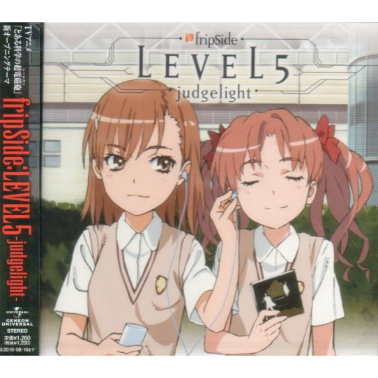 Level 5 - Judgelight (To Aru Kagaku No Railgun Intro Theme)