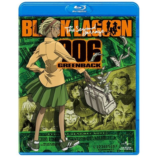 Black Lagoon The Second Barrage Blu-ray 006 Greenback