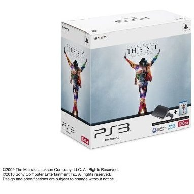 PlayStation3 Slim Console - This Is It Bundle (HDD 120GB Model) - 110V