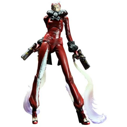 Bayonetta Play Arts Kai Pre-Painted Figure: Jeanne