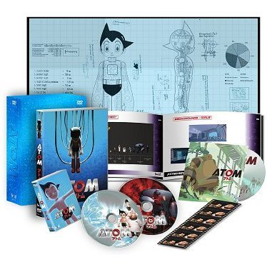 Astro Boy - Atom Premium Box [2DVD+CD-ROM+MicroSD Limited Edition]