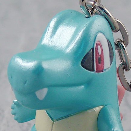 Banpresto Pokemon DP Pre-Painted Key Chain: Waninoko