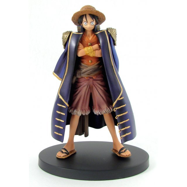 One Piece The Grandline Men Vol.4 Pre-Painted Figure: Luffy