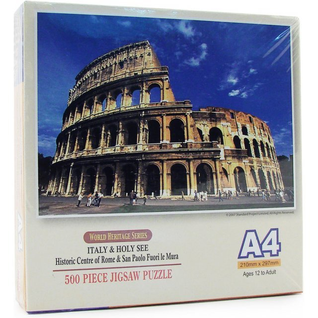 World Heritage Series 500 Pieces Puzzle