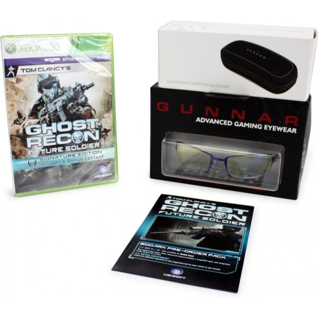 Tom Clancy's Ghost Recon: Future Soldier (with Gunnar Gaming Eyewear Bundle) (Signature Edition)