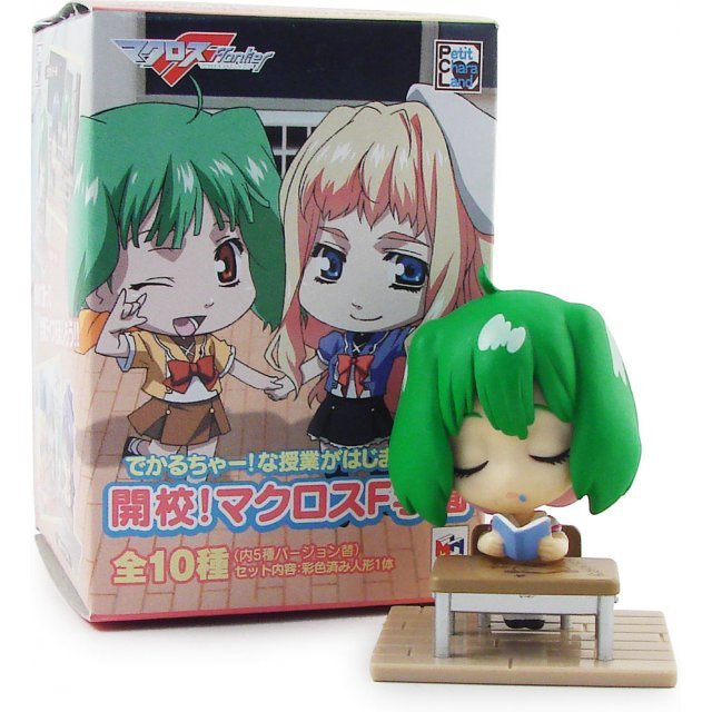 Macross Frontier F School Pre-Painted Trading Figure