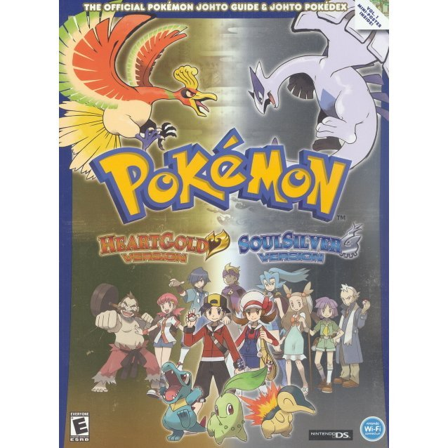 Pokemon Heart Gold Guide Book