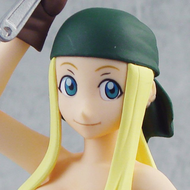Fullmetal Alchemist Non Scale Pre-Painted Figure: Winry Rockbell