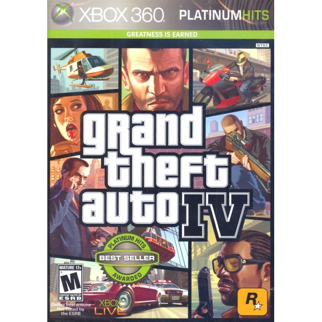 Grand Theft Auto IV (Platinum Hits) [Damaged Box]