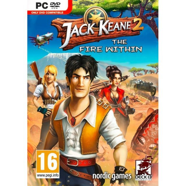 Jack Keane 2: The Fire Within (DVD-ROM)