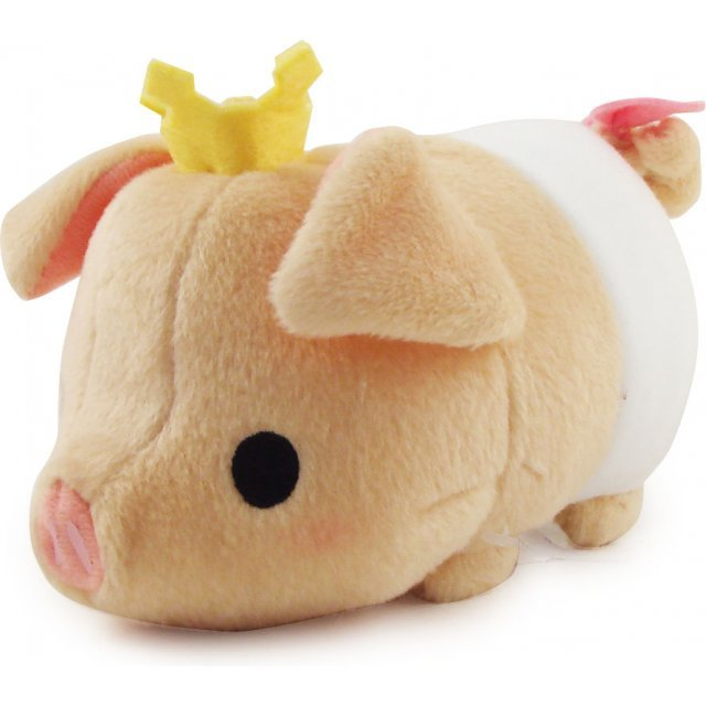 Monster Hunter Tokotoko Walking Pugee Plush Doll: White Colour Type
