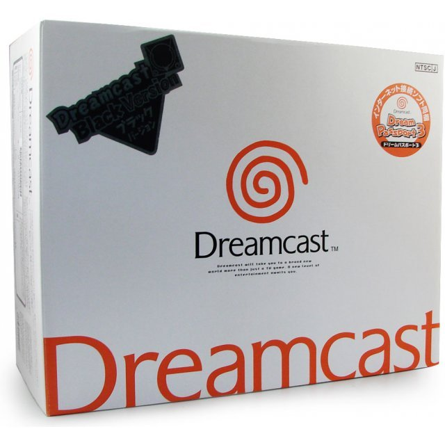Dreamcast Console - D-Direct Black Special Edition (Japanese version)