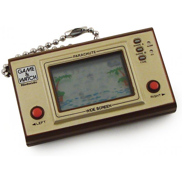 TakaraTomy Game Watch Mini Solar Key Holder: Parachute