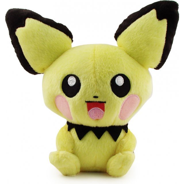 Pokemon Pocket Monster DP Korotto Pre-Painted Plush Doll: Pichuu