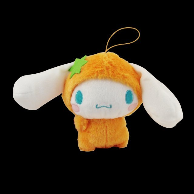 Cinnamoroll Fruits Dress Up Mini Plush Doll: Cinnemoroll Orange