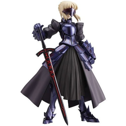 Fate/stay night Non Scale Pre-Painted PVC Figure: figma Saber