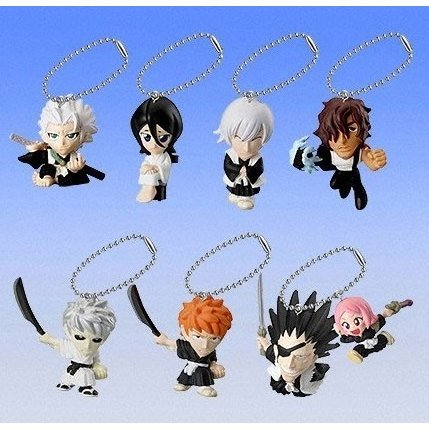 Bleach Swing 2 Pre-Painted Keychain Gashapon (Shipped randomly)