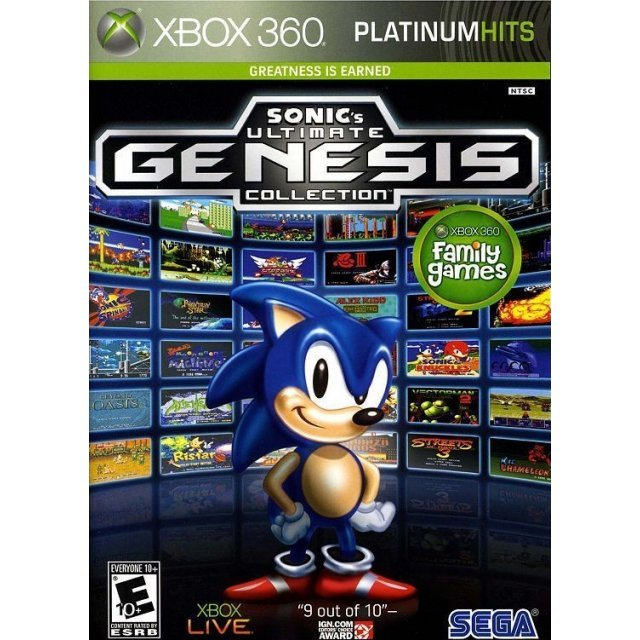 Sonic's Ultimate Genesis Collection (Platinum Hits)