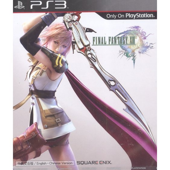 Final Fantasy XIII (English + Chinese Version)