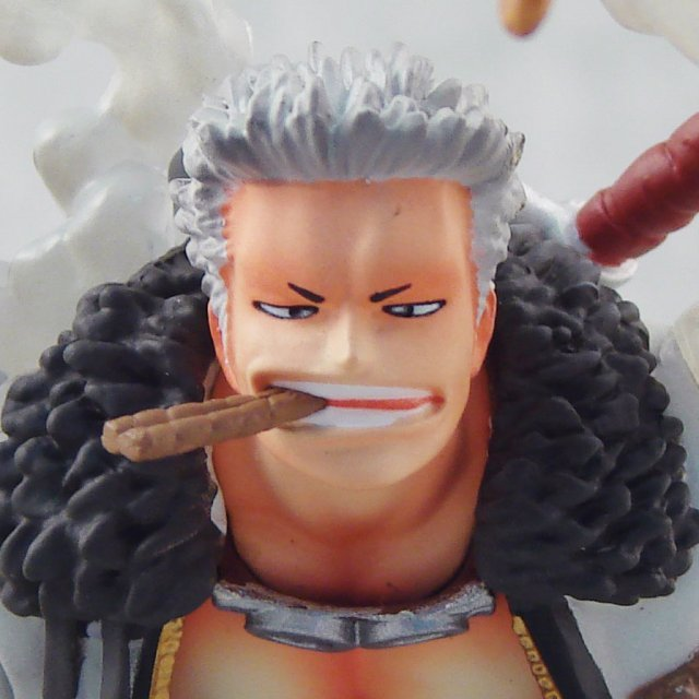 One Piece Super Effect Figure Vol. 1 Pre-Painted Figure: Smoker