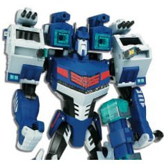 Transformers Non Scale Pre-Painted Action Figure: TA27 Ultra Magnus - Light & Sound