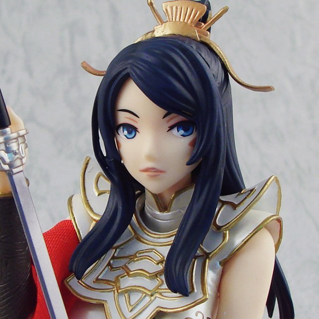 Sangokushi Taisen 3 1/8 Scale Pre-Painted PVC Figure: Oui (Limited Version)