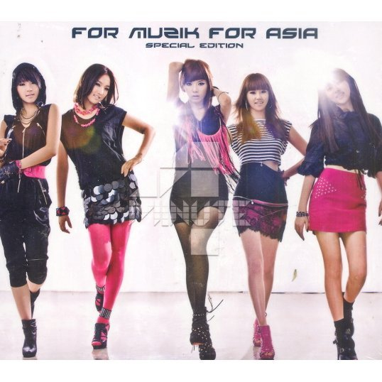 For Muzik For Asia [Special Edition CD+DVD]