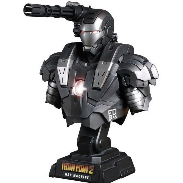 Iron Man 2 1/4 Scale Bust Pre-Painted Statue: War Machine