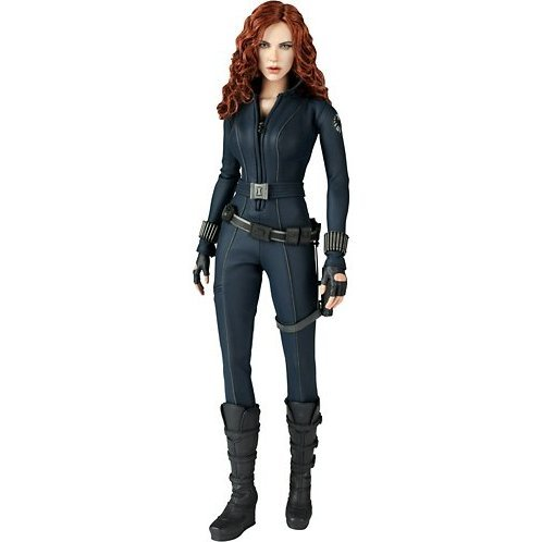 Movie Masterpiece Iron Man 2 1/6 Scale  Pre-Painted Statue: Black Widow