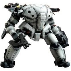 Lost Planet 2 1/35 Scale Pre-Painted Action Figure: PTX-140R Hardballer