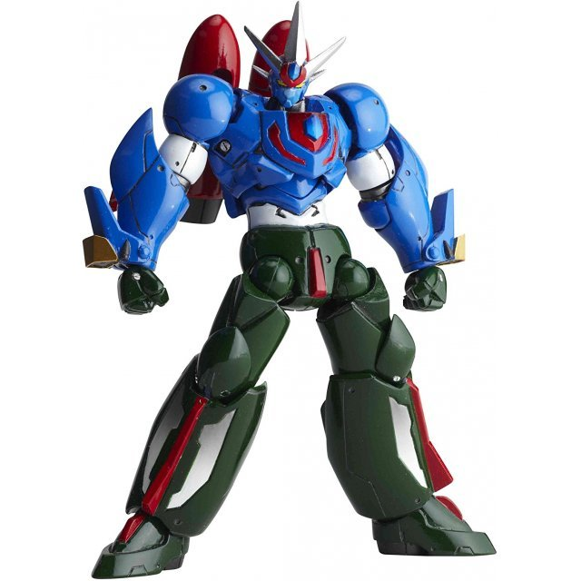 Revoltech Series No. 089 - Getter Robo Go Pre-Painted PVC Figure: Getter Go
