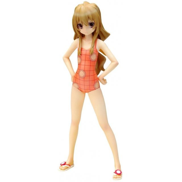 Beach Queens Toradora 1/10 Scale Pre-Painted PVC Figure: Aisaka Taiga