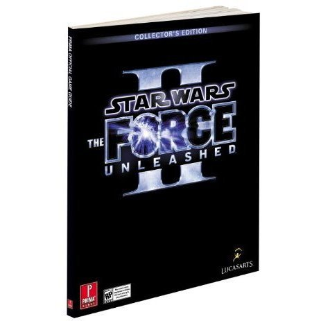 Star Wars The Force Unleashed II Prima Official Game Guide Collector's Edition