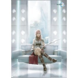 Final Fantasy XIII Wall Scroll Poster - Lightning