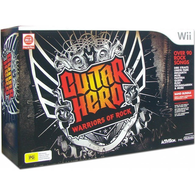 Guitar Hero: Warriors of Rock (Super Bundle)