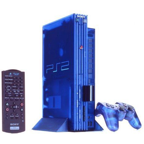 Playstation2 console ocean blue limited edition japanese version - Ps3 limited edition console ...