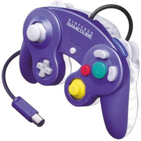 Game Cube Controller (Purple Clear)