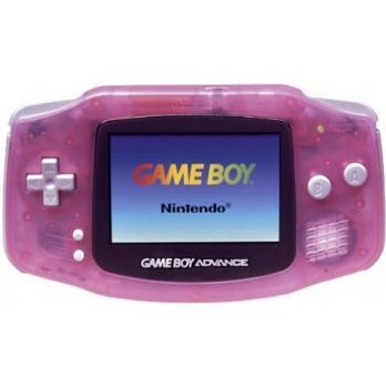 Game Boy Advance Console - Milky Pink