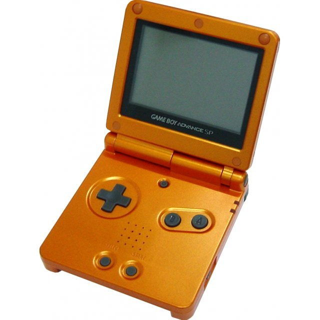 Game Boy Advance SP - Pokemon Center Limited Edition Torchic Orange (110V)