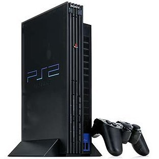 PlayStation2 Console Midnight Black