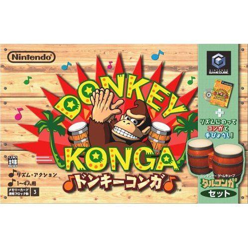 Donkey Konga (incl. drum controller)