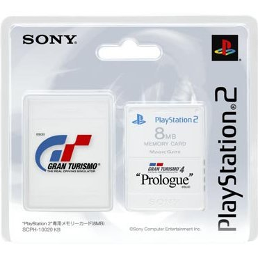 Memory Card 8MB Premium Series - Gran Turismo 4 Prologue
