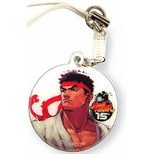 Capcom Street Fighter Celluar Cleaner Strap: Ryu