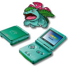 Game Boy Advance SP - Venusaur Leaf Green (110V)