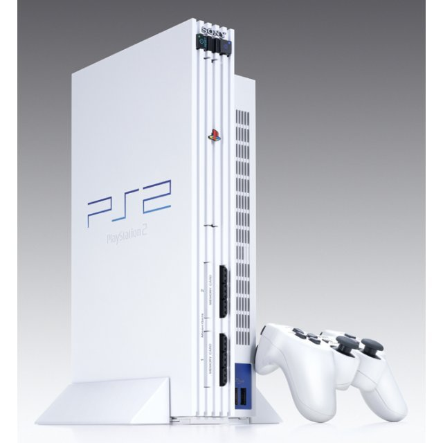 PlayStation2 Console Ceramic White