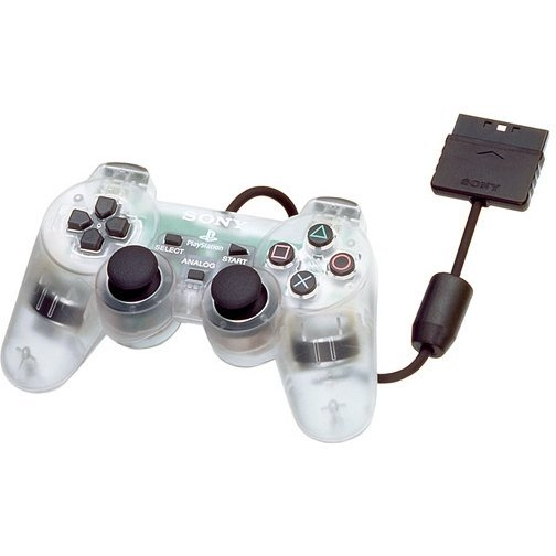 Dual Shock 2 Controller (Crystal)