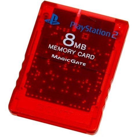 Memory Card 8MB (Crimson Red)