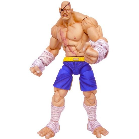Street Fighter Action Figure: Sagat